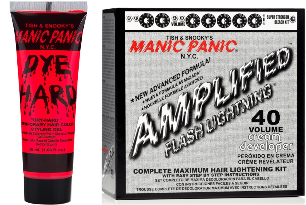 two Manic Panic products