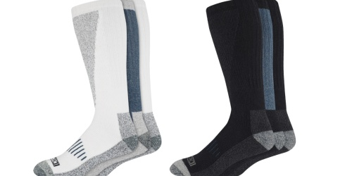 Dickies Men's Socks 3-Packs Only $5 on Walmart.com (Just $1.66 Per Pair)