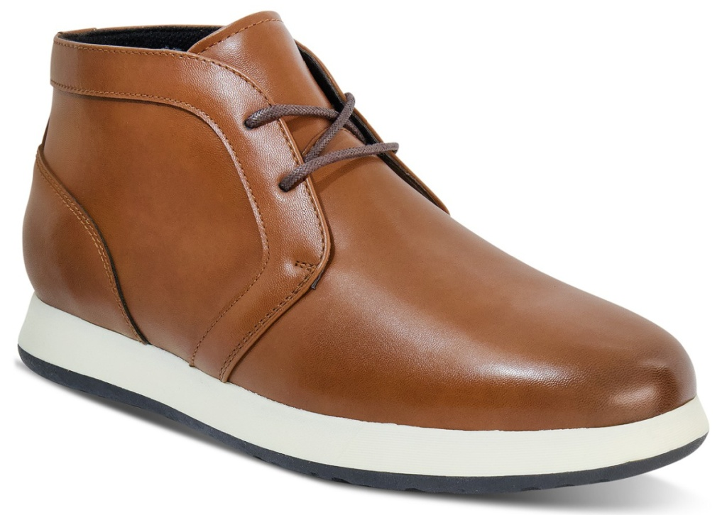 men's leather shoe in brown