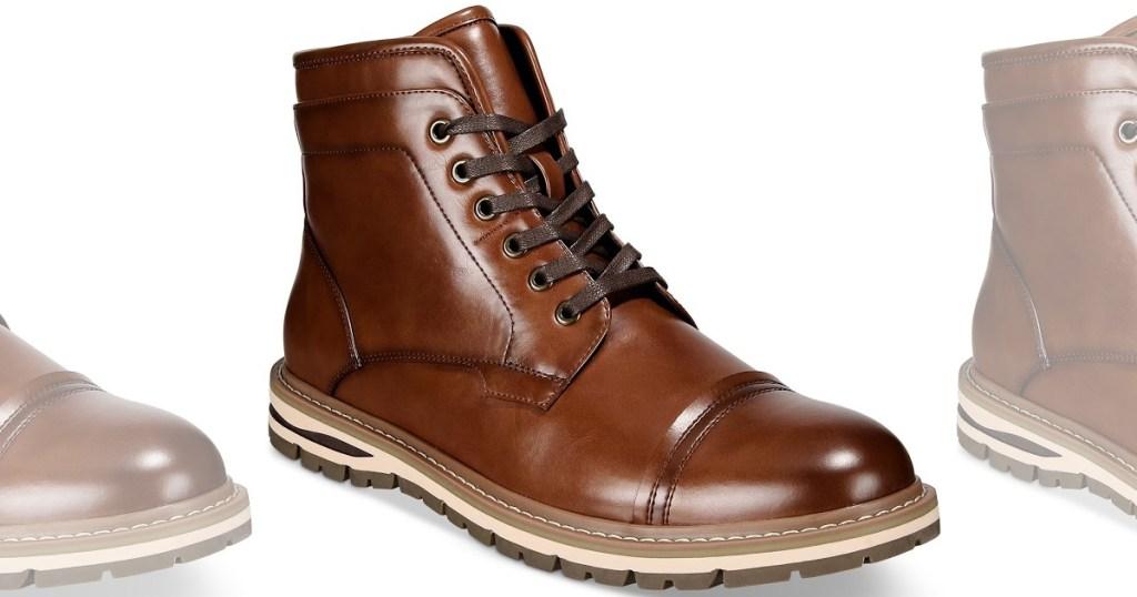 Men's boot in brown