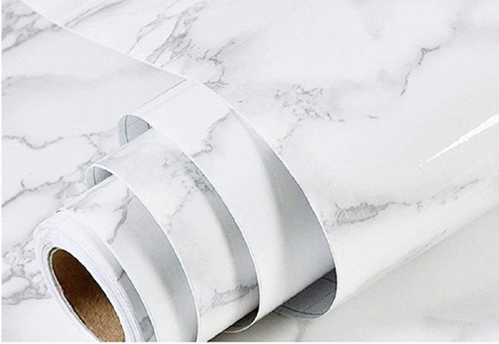 roll of Marble Wallpaper