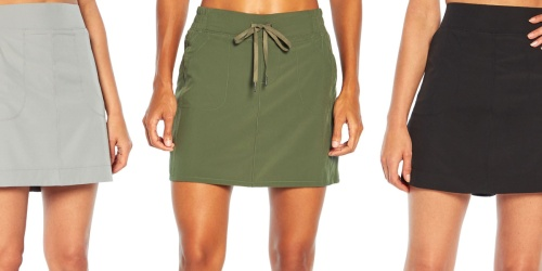 Women's Athleisure Skorts Only $16.99 on Zulily | Marika, Balance Collection, & More