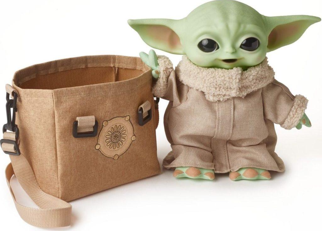 Mattel Baby Yoda Plush Bundle
