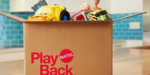 Mattel's New PlayBack Program Will Recycle Your Old Barbies, Matchbox Cars, & Other Toys for Free