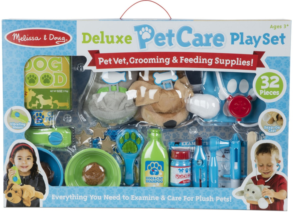 large pet care play set