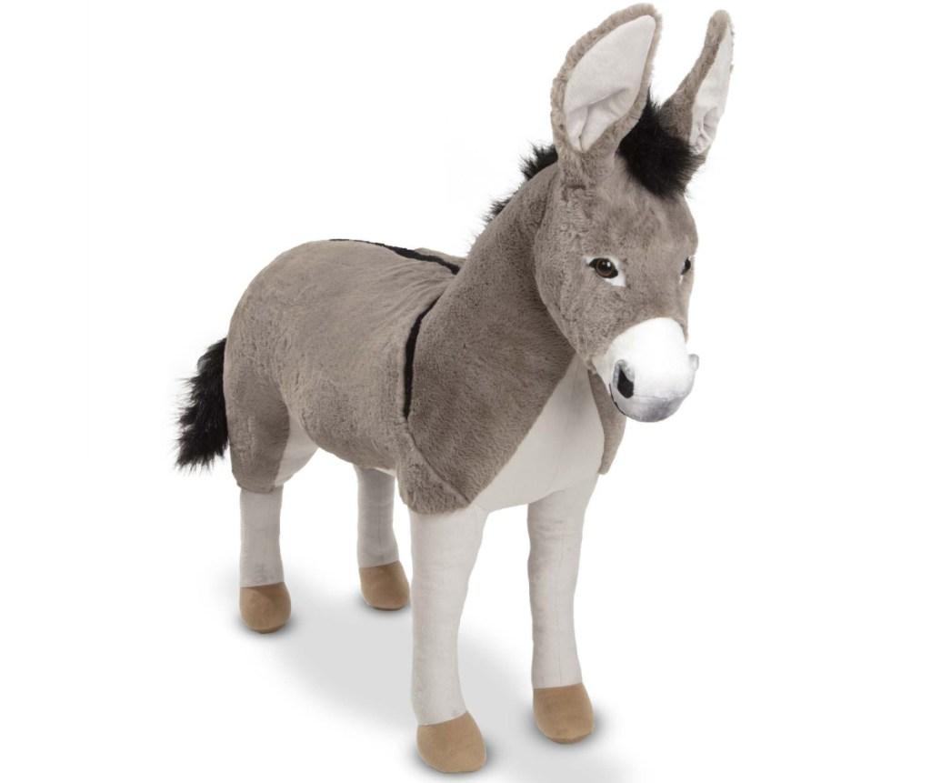 large lifelike donkey