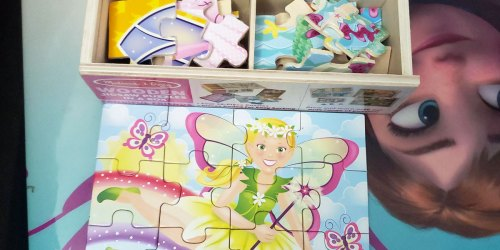 Melissa & Doug Wooden Jigsaw Puzzles in a Box 2-Count Only $9.51 on Amazon (Regularly $26)