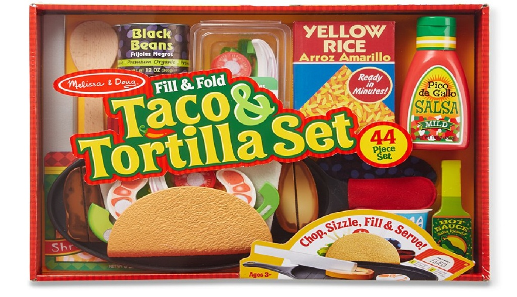 Melissa & Doug brand taco play set