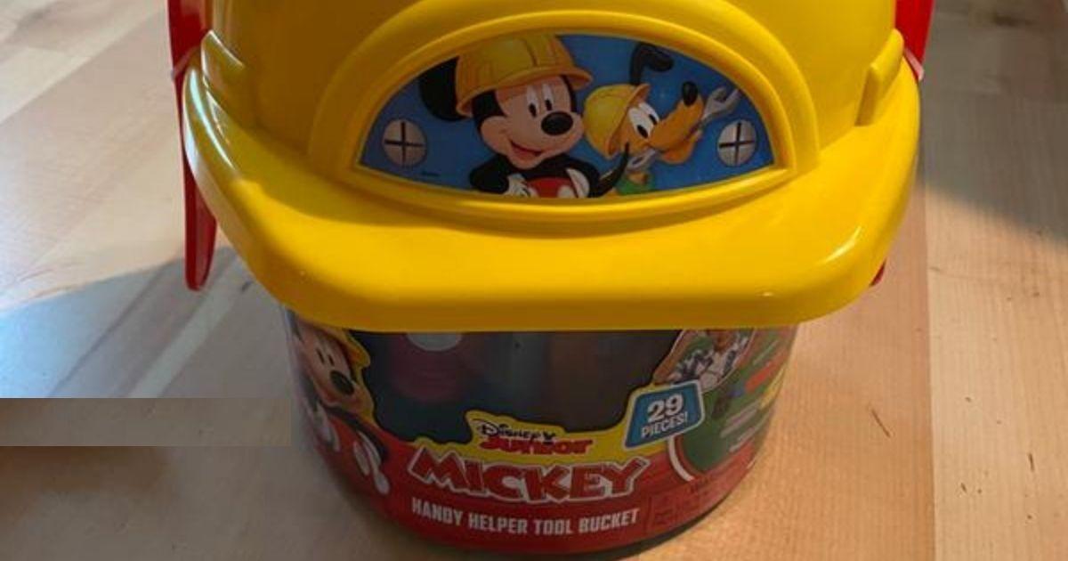 Mickey Mouse Tool Bucket