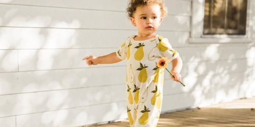 Milkbarn 100% Cotton Rompers Only $11.99 on Zulily (Regularly $34+)