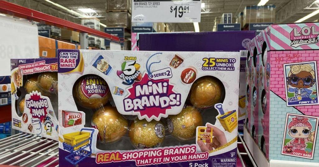 Mini Brands 5-pack Sam's Club