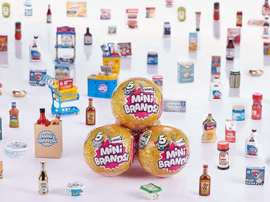 Mini Brands Collectible Surprise Balls