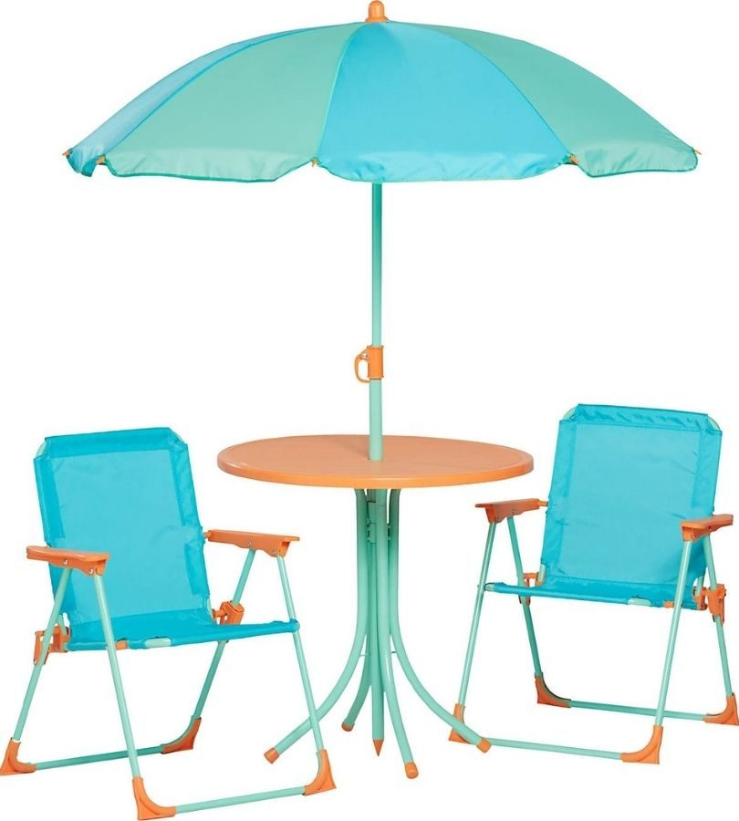 Mosaic Kids Patio Table and Chair Set