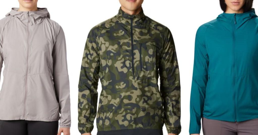 mountain hardwear kor preshell pullovers