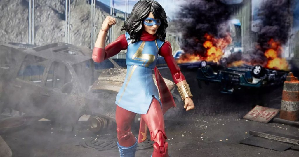 ms marvel action figure