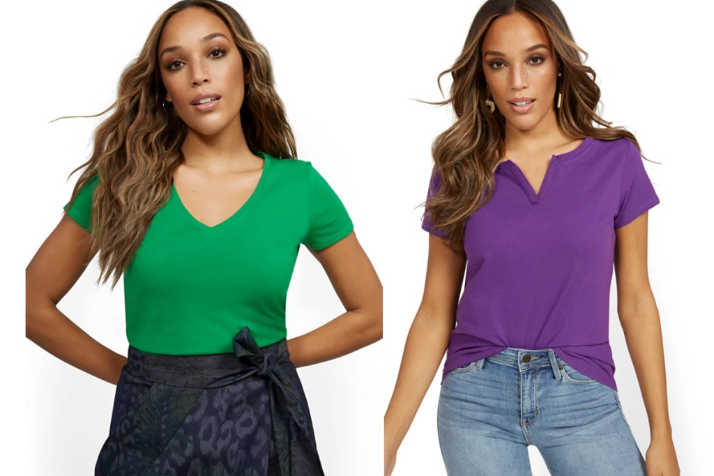 NY&C t shirts