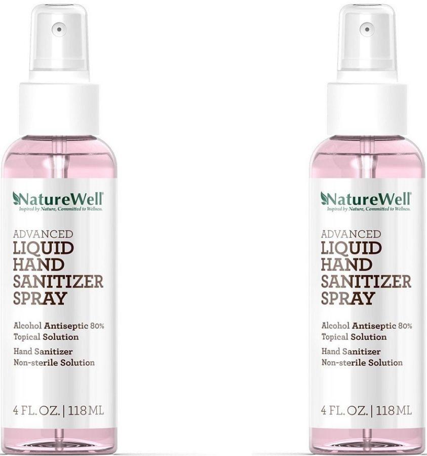 NatureWell Hand Sanitizer Spray