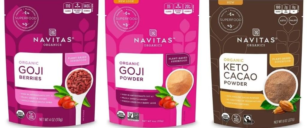 Navitas Organics bags
