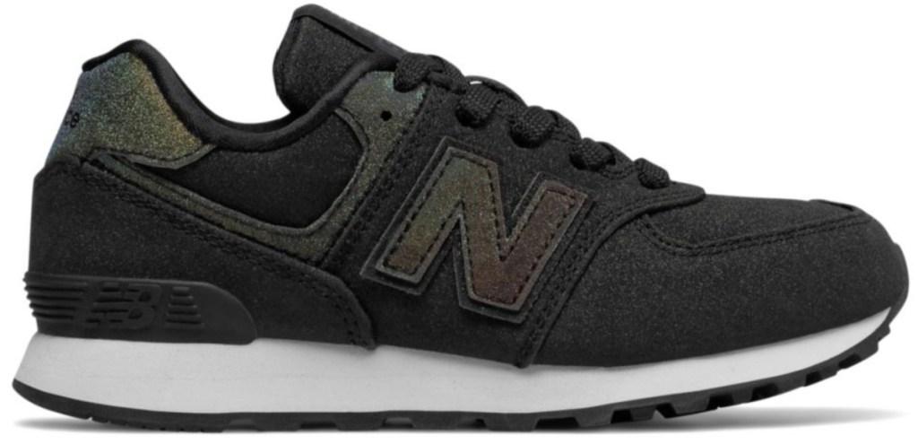 black new balance kids shoes