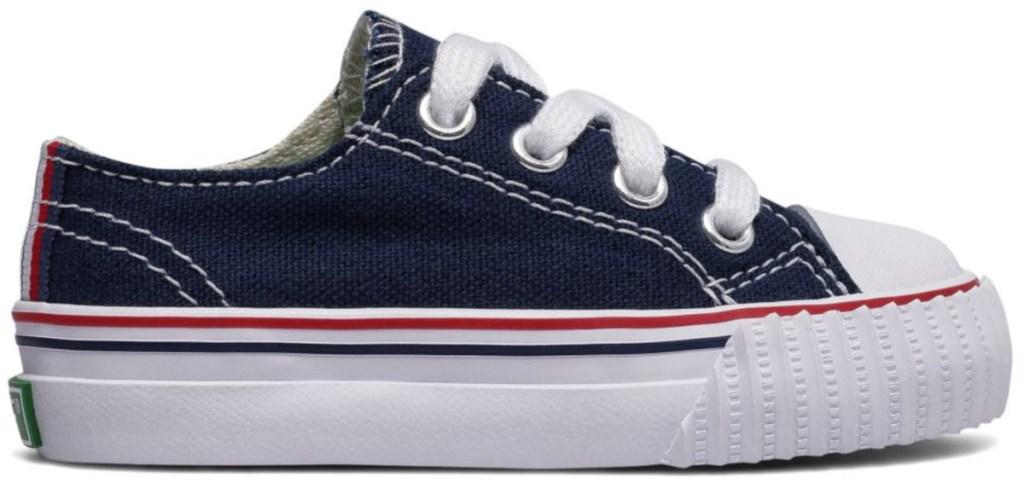 infants navy blue new balance shoes