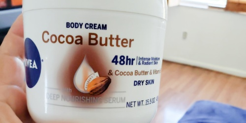 NIVEA Cocoa Butter Body Cream Only $3.85 Shipped on Amazon