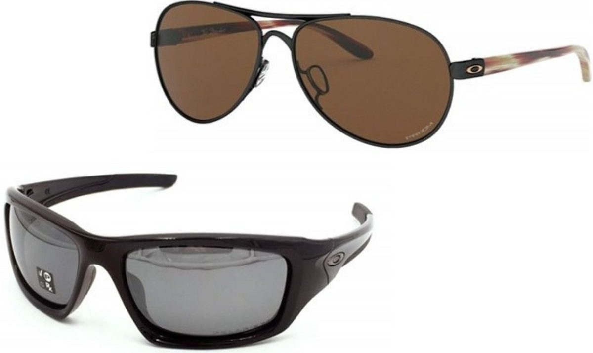 two pairs of Oakley Sunglasses