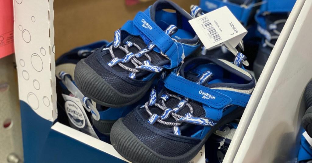 blue boys sandals