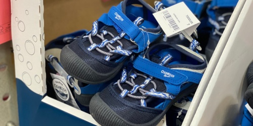 Oshkosh B'gosh Kids Sandals Only $9 at Sam's Club Starting 5/8