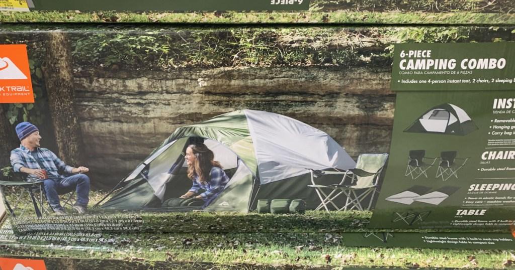 ozark trail tent set