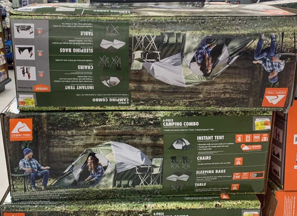 ozark trail tent sets