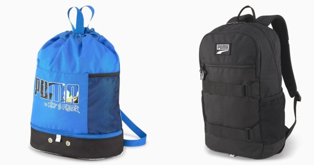 two PUMA Backpacks