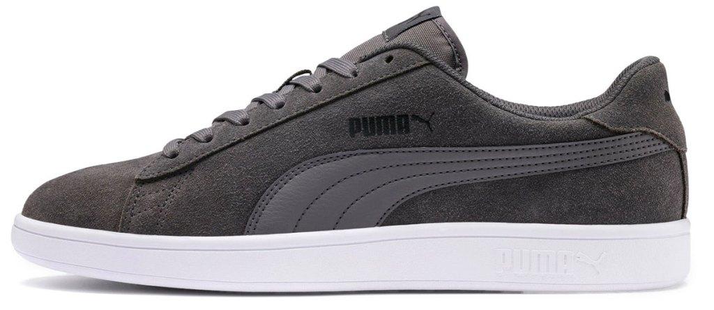 grey suede puma sneaker