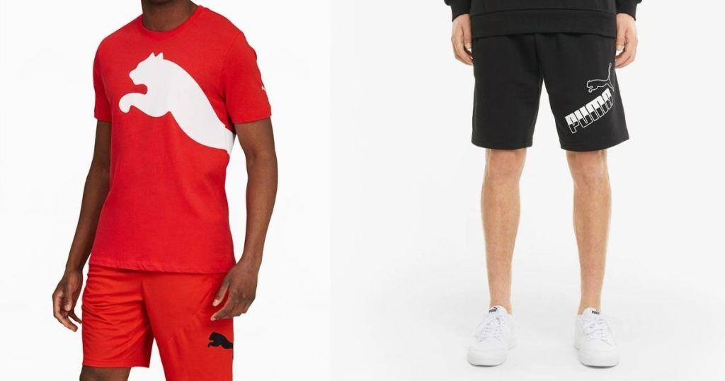 PUMA Men's Tee and Shorts