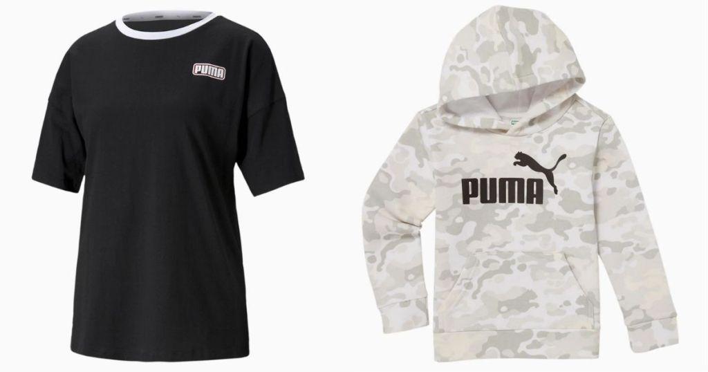 PUMA Women's Tee and Sweatshirt