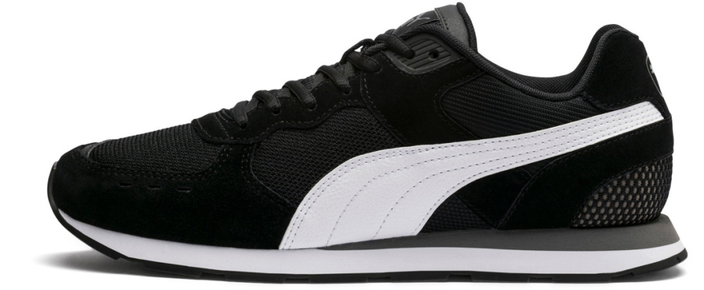 black and white suede sneaker