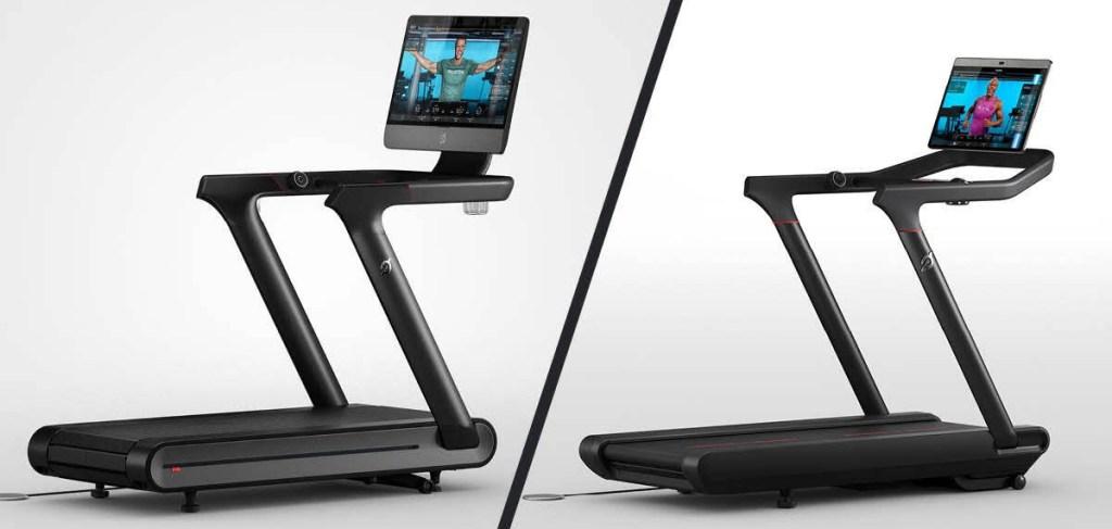 2 Peleton treadmills