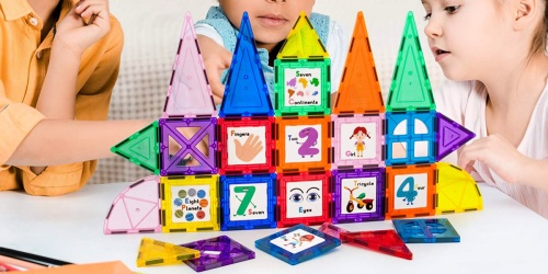 PicassoTiles 42-Piece Magnetic Building Block Set Only $11.99 on Zulily (Regularly $50)