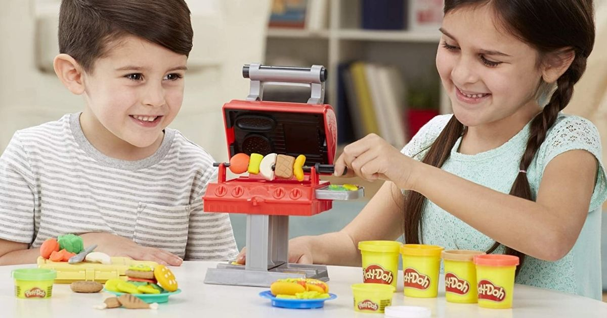 Play-Doh Grill