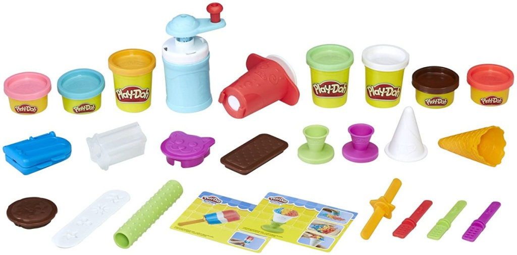 play-doh frozen treats playset