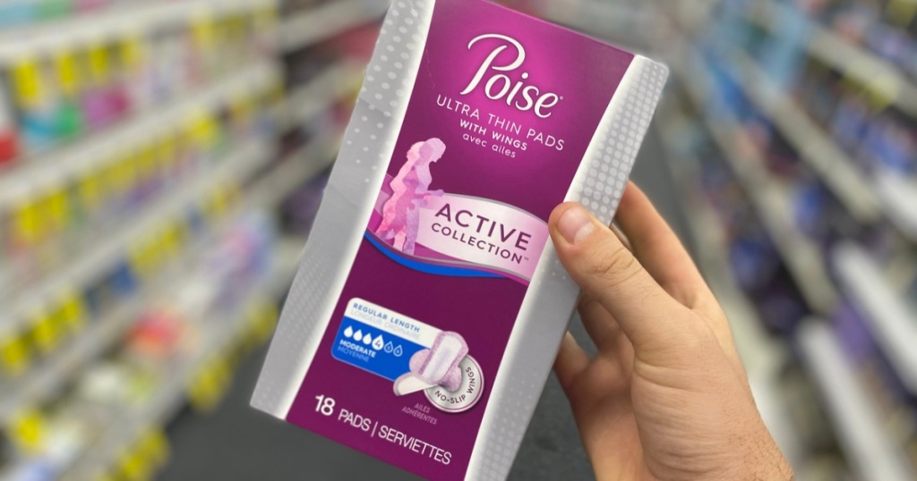 Poise Active Pads
