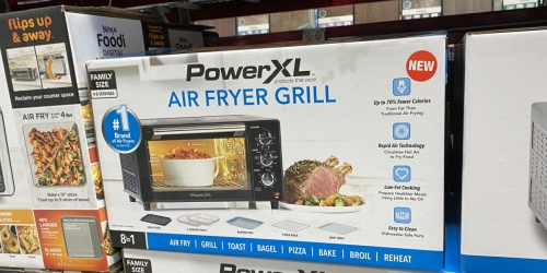 PowerXL Air Fryer Grill Toaster Oven Only $89.98 Shipped on Sam's Club (Regularly $120)