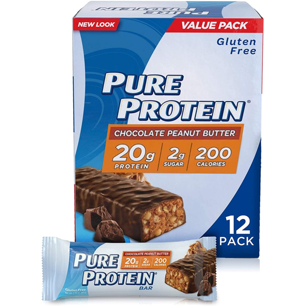 chocolate peanut butter flavored protein bars