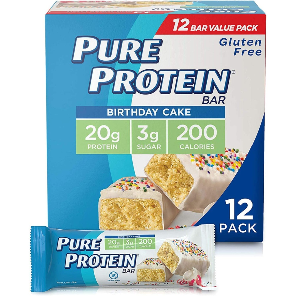 large package of protein bars