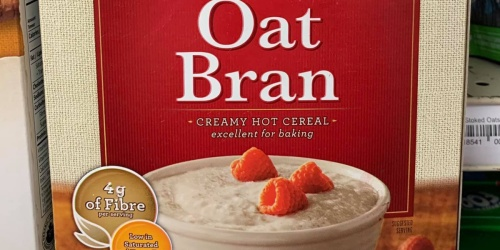 6 Quaker Oat Bran Hot Cereal 16oz Boxes Only $14.95 Shipped on Amazon | Just $2.49 Per Box