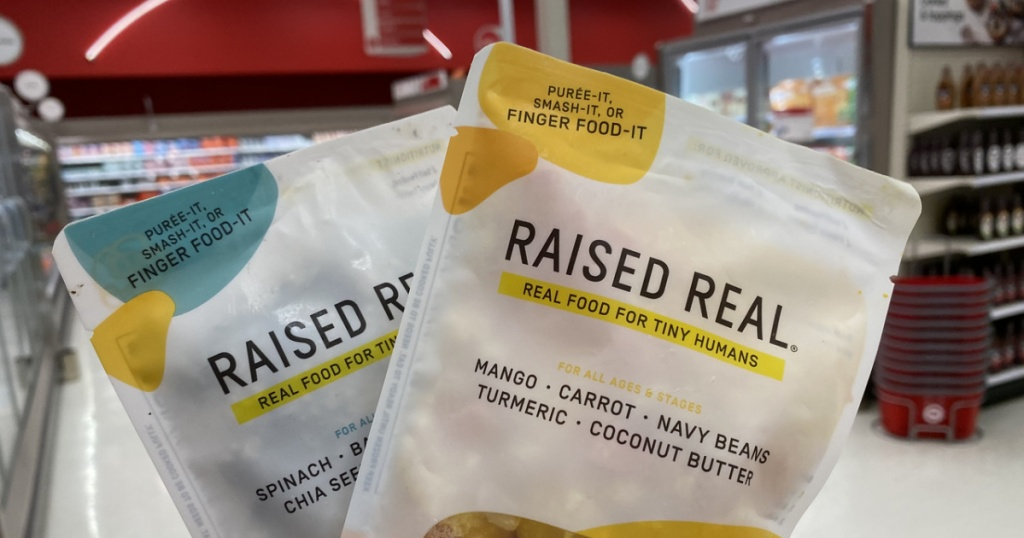 Raised Real Foods at TArget