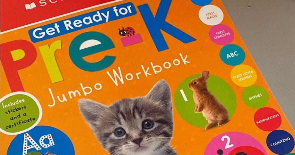 Ready For Pre-K Jumbo Workbook