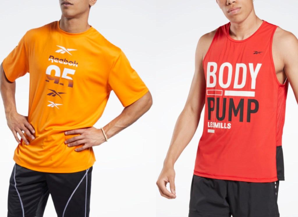 reebok men's apparel