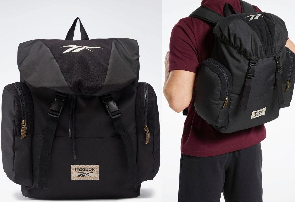 Reebok Backpack worn by a man