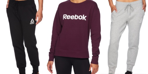 Reebok Women's Fleece from $15.88 on Walmart.com | Plus Sizes Available