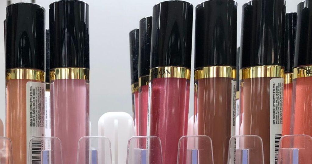 Revlon Super Lustrous Lip Gloss on store shelf
